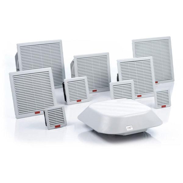 Ventilateurs et filtres de sortie