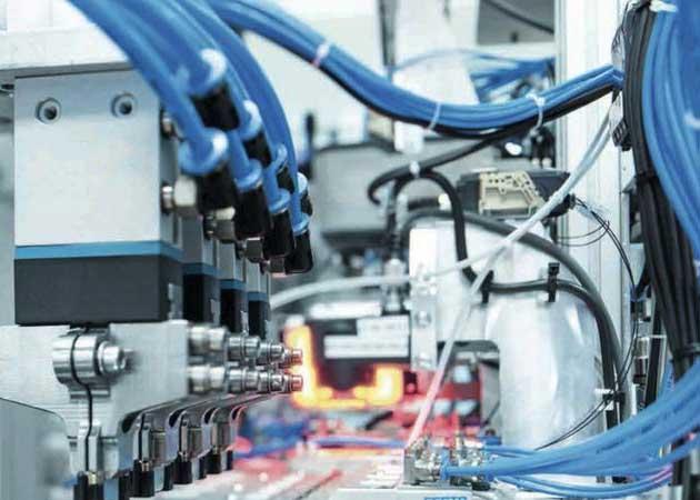 Composants d'automatisme Instrumentation, Régulation</br> & pneumatique